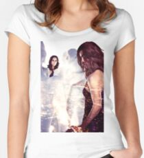 Dollhouse - Eliza Dushku Women's Fitted Scoop T-Shirt