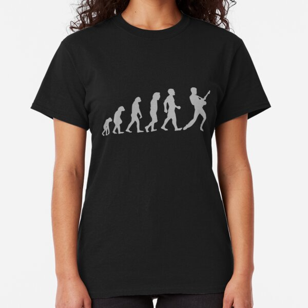Guitar Player Evolution Classic T-Shirt