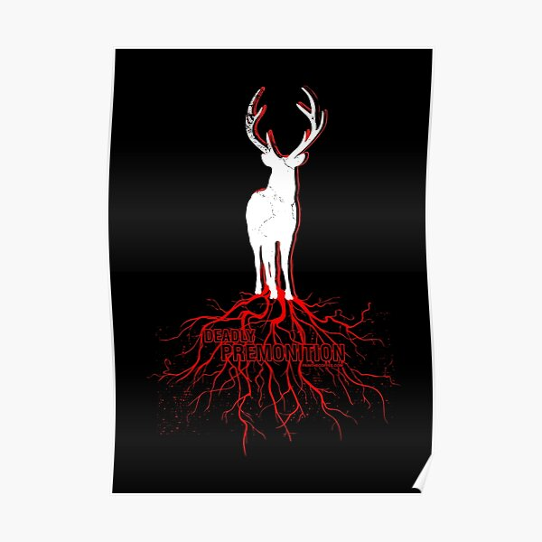 Deadly Premonition Red Roots Poster