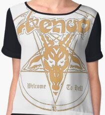 Venom band- Welcome to Hell Chiffon Top