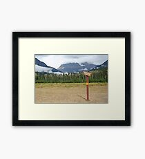 Signpost to the beyond  Framed Print