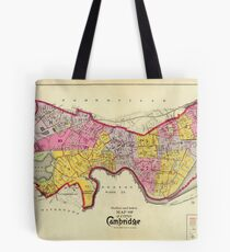 Cambridge Massachusetts 1903 Tote Bag