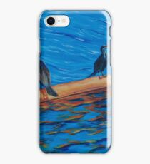 resting cormorants iPhone Case/Skin