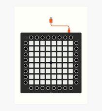Launchpad Pro - Iconisches Getriebe Kunstdruck