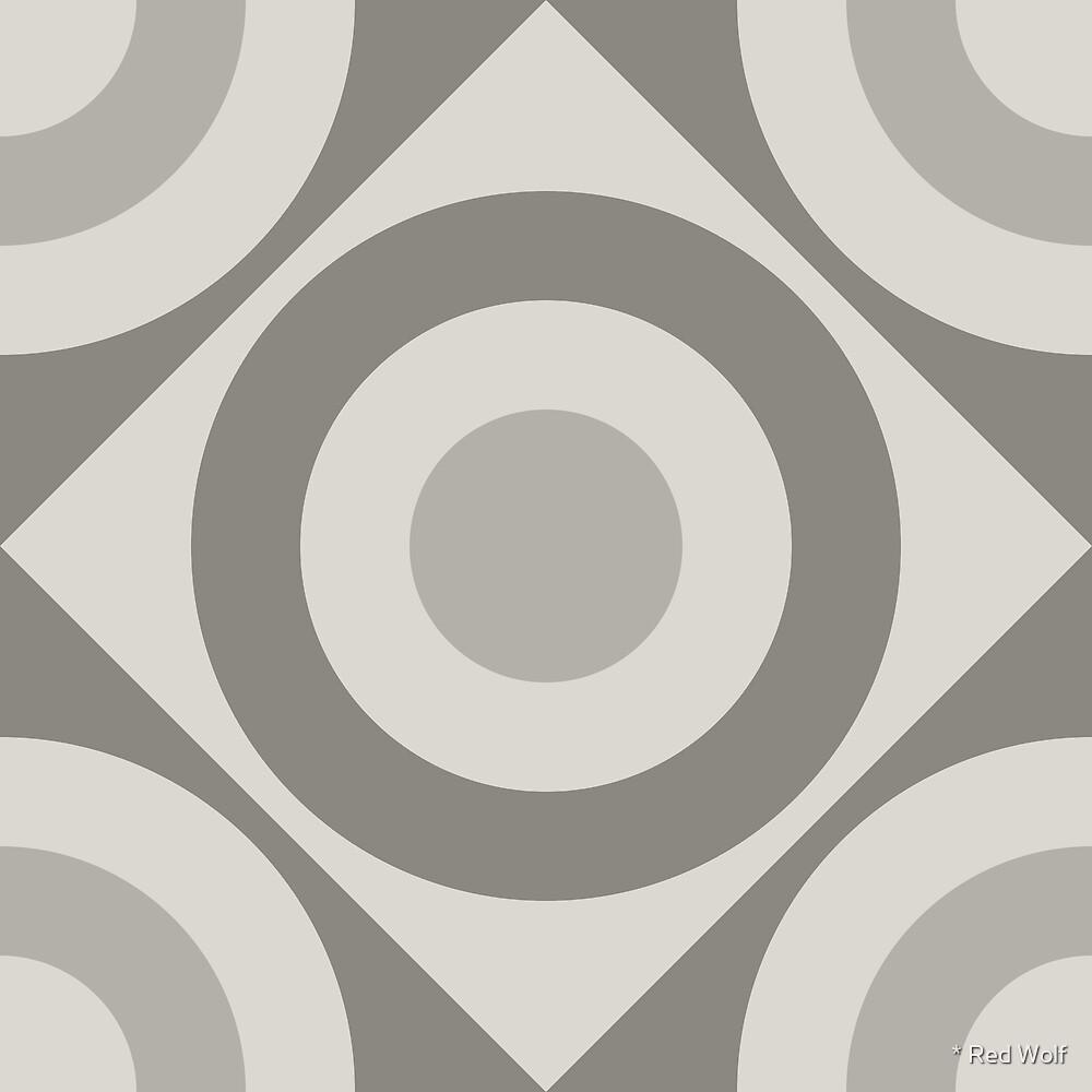Geometric Pattern: Rondel Diamond: Portland by * Red Wolf