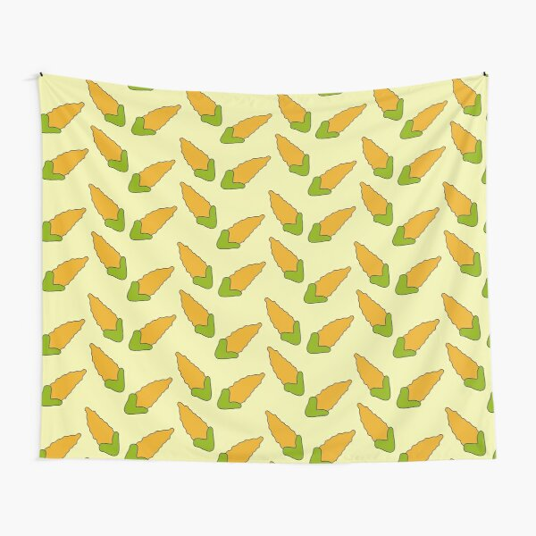 Corn Curtains Tapestry