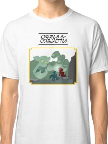 Ogres and Oubliettes - black text Classic T-Shirt