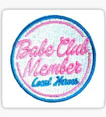 Babe Club Member patch Sticker
