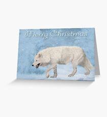Homeward Bound - Christmas Card Greeting Card