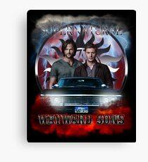 Supernatural WayWard Sons Theme 4 Canvas Print