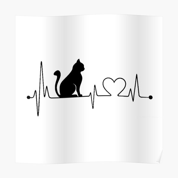 Cat Heartbeat  Poster