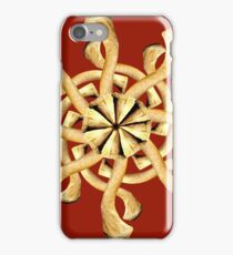Clavicle Snowflake-Blood Red iPhone Case/Skin