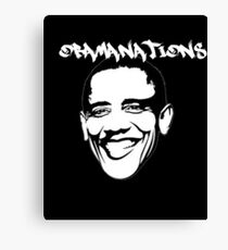 Obamanations Shirt Canvas Print