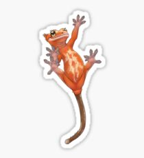 Climbing Crestie - Red  Sticker
