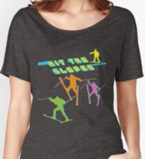 Hit The Slopes! (ALWAYS SUNNY) Women's Relaxed Fit T-Shirt