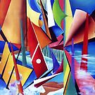 Summer Sails 2 by Margaret Harris