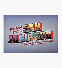 san junipero Photographic Print
