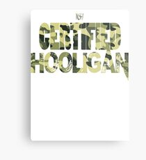 Certified Hooligan(TCH CLOTHING) Metal Print