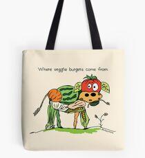 Vegetarische Burger Tote Bag