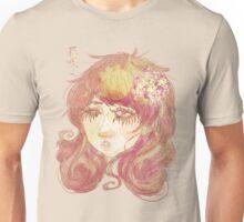 Fille de fleurs Unisex T-Shirt