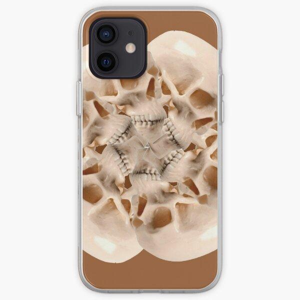 Skull Blossom - Caramel iPhone Soft Case