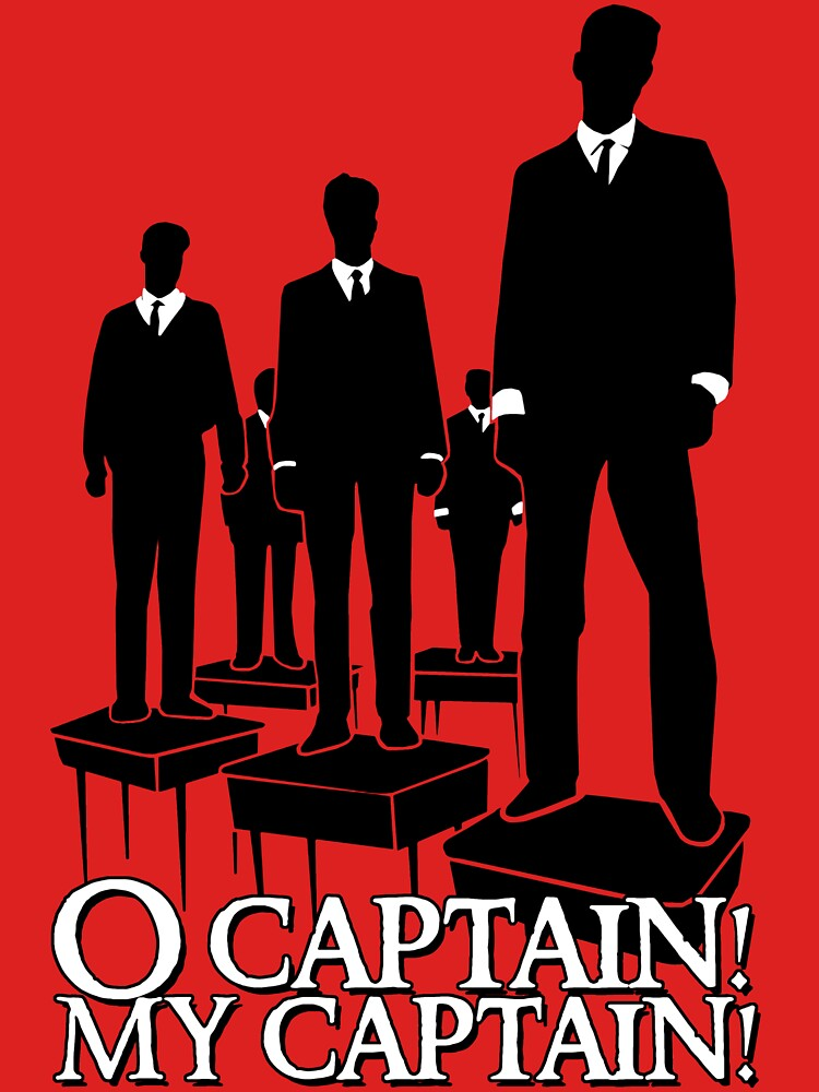 TShirtGifter presents: O Captain! My Captain! | Unisex T-Shirt