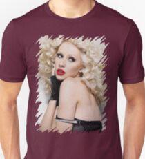 Christina Aguilera - Oil Paint Art T-Shirt