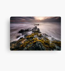 Cloudy Sunset, Maui Canvas Print