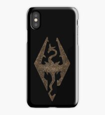 Skyrim symbol iPhone Case/Skin