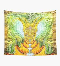 Mifsudvisions vs SalviaDroid Collab Wall Tapestry