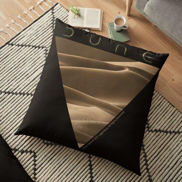 Dune Logo Desert  Floor Pillow