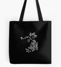 Amazing Grace - duco divina doodle (in WHITE) Tote Bag