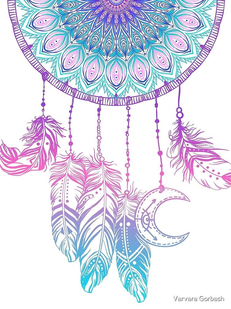 Mandala in dreamcatcher by varka