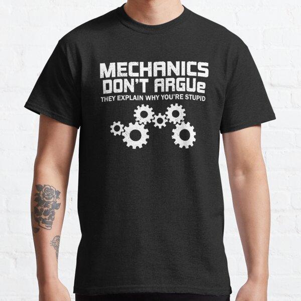 Mechanics design funny mechanic Classic T-Shirt