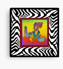 PETER MAX LOVE Canvas Print