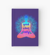 Good Vibes Only Hardcover Journal