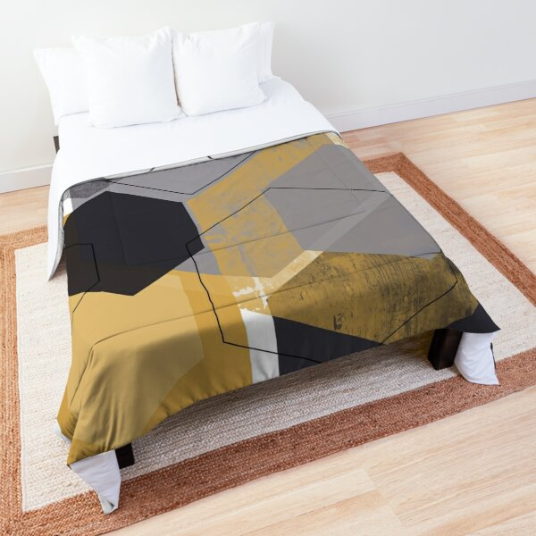 Geometric Nordic Design Art Comforter