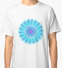Peacock feathers mandala Classic T-Shirt