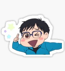 Yuuri Cutie Pie Sticker
