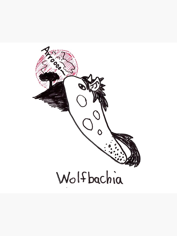 Wolfbachia - scary bacteria! by redpenblackpen
