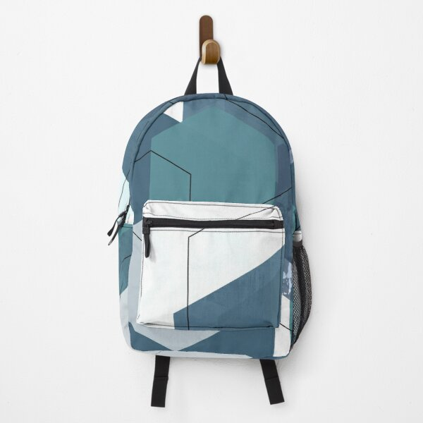 Geometric Nordic Design Art Backpack
