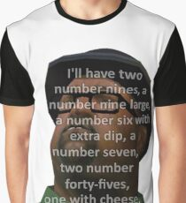 Big Smoke (two number 9s) Graphic T-Shirt