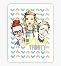 The Holy Trinity Sticker