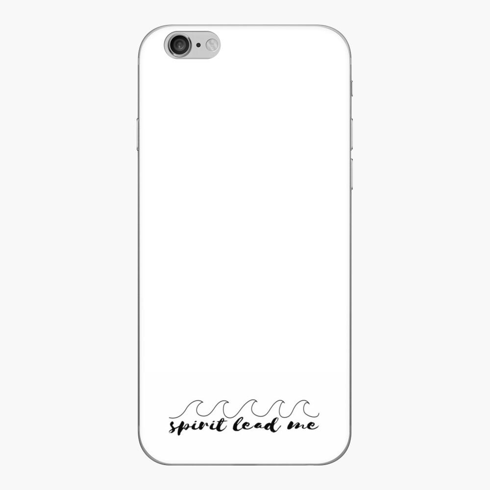 Espíritu guíame Vinilo para iPhone