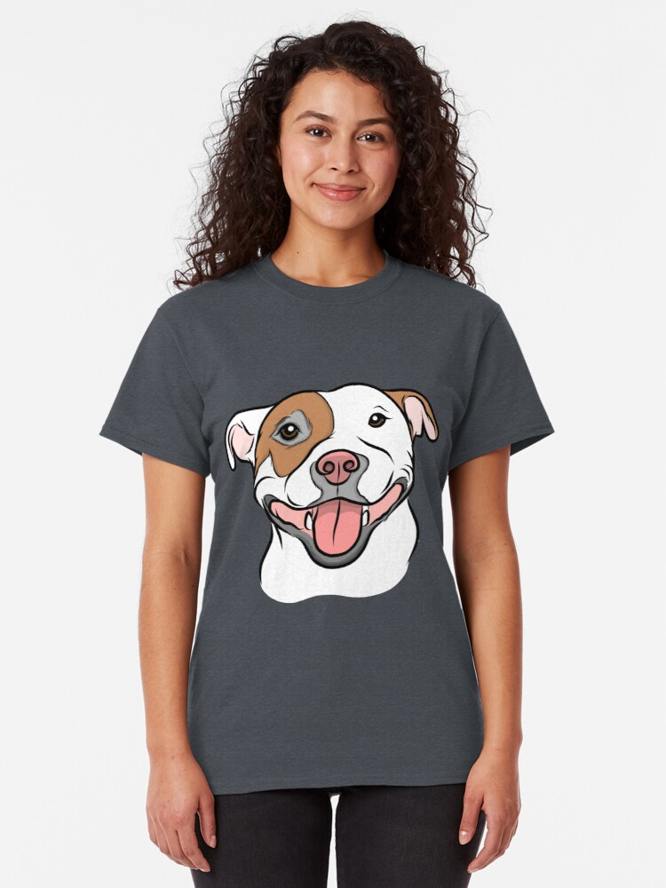 Alternate view of Happy Go Lucky Pit  Classic T-Shirt