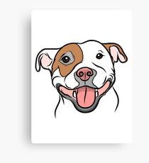 Happy Go Lucky Pit  Canvas Print