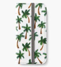 Palm Tree Print iPhone Wallet/Case/Skin