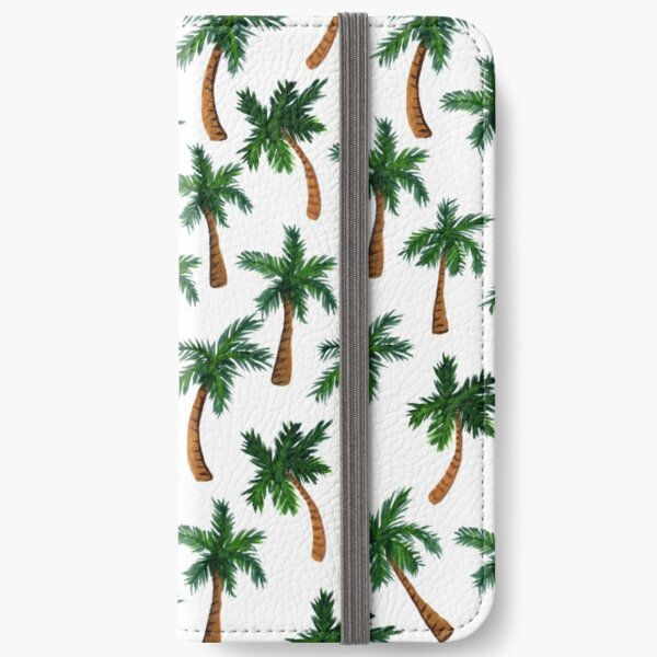 Palm Tree Print iPhone Wallet