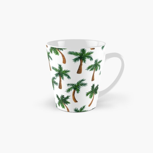 Palm Tree Print Tall Mug