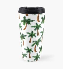 Palm Tree Print Travel Mug